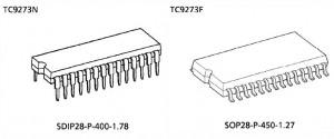 TC9273 Bauformen